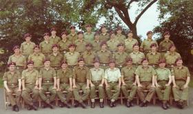 305 (Parachute Brigade) Signal Sqn ( Middlesex Yeomanry) TA, 1966.