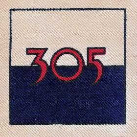 305 Signal Squadron TA DZ Flash