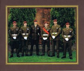 Members of PARA Training Team, ATR Lichfield, 1993.