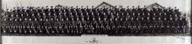 Group Photograph of D Company Ox and Bucks 52nd Light Infantry, December 1943.