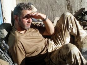 S/Sgt Bill Hounsome, Operation Ocab Sterga, Helmand, Herrick VIII, 2008.