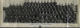 Group Photograph of A Company, 17th Parachute Battalion, January 1946.