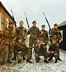 371 Platoon, Brecon, 1971.