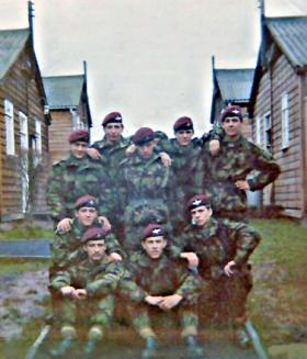 371 Platoon in Brecon, 1971.