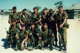 Group photograph South African airborne forces