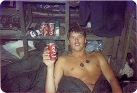 Pte Lee Crichton, A Coy 4 PARA, in Minnesota, 1983