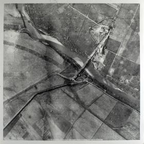 Aerial Photograph of Primosole Bridge