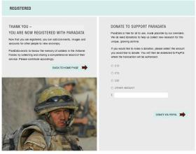5. User Account, Registered screen.