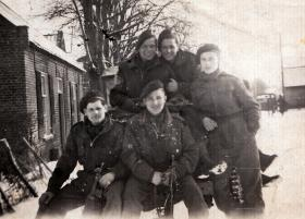 Members of 398 (Airborne) Composite Company RASC, date unknown