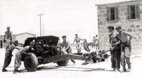 17 pounder, 3 PARA, Cyprus 1951.