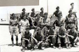 Members of Anti Tank Platoon, 3 PARA, Cyprus 1951.
