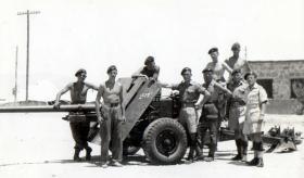 Anti Tank Platoon, 3 PARA, Cyprus 1951.