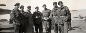 Members of 3 PARA on an 'Air-portability Course' RAF Kasfareet, Canal Zone, 1952.