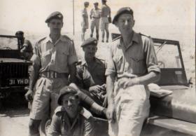 Officers, 3 PARA Cyprus, 1951.