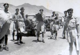 3 PARA Officers, Cyprus, 1951.