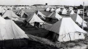 3 PARA's Camp, Waynes Keep, Nicosia Cyprus, 1951.