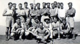 3 PARA Medium Machine Gun Platoon, Mount Olympus, Cyprus 1951.