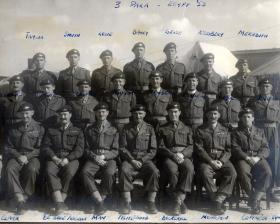 3 PARA Officers Egypt 1953