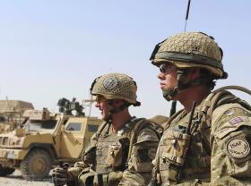 A COY, 3 PARA, Preparing for a Patrol, Showal, Afghanistan, 2011