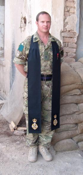 Padre Robin Richardson, 3 PARA, Afghanistan, 2011