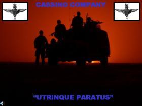 Sunsets over a Cassino Coy 4 PARA Patrol, Iraq, Telic 7, 2006