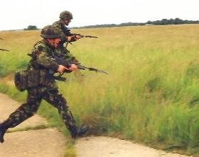 4 PARA Bayonet Training, Sculthorpe 2001.