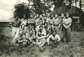 A group of men from 4th Parachute Battalion, c1943.