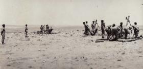 4.2 inch mortars of 33 Para Light Regiment, Jordan 1958