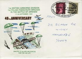 40th Anniversary Commemorative Cover