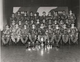 44 PARA OFP RAOC Heston Drill Hall 1976