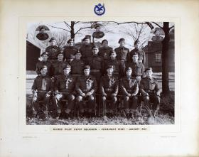 Group Photograph of The Glider Pilot Depot Squadron, January 1947