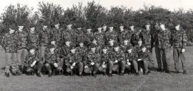 465 Platoon at RAF Brize Norton, 1980.