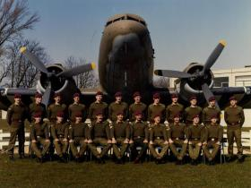 Passing Out photograph of 478 Platoon, March 1982.