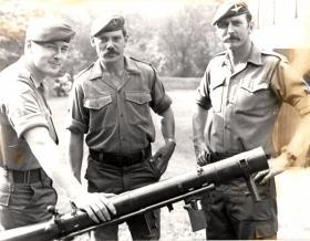 Members of 2 PARA, late 1981.