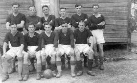 4th Parachute Battalion Soccer Team, Palestine 1946.