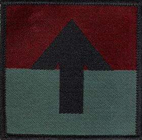 5 Airborne Brigade Pathfinder Platoon DZ Flash (2nd Pattern)