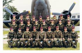 5 Platoon, Junior Parachute Company, 1981.