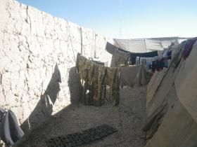 Drying Area, Patrol Base 1, Afghanistan, 2010