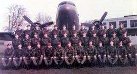 506 Platoon, Depot The Parachute Regiment and Airborne Forces, October 1984 – April 1985.
