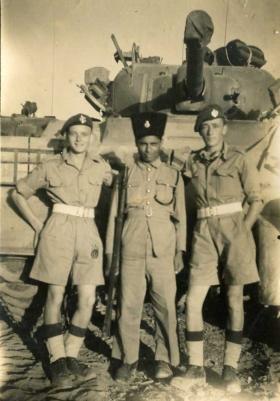 Palestine Police Fort taken 5th Dec 1945