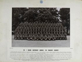 Group Photograph of No.1 Guards Independent Company, 1953