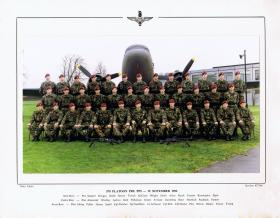 Intake photo of 578 Platoon, Aldershot, November 1992.