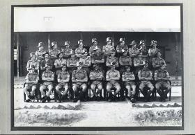 Group Photograph of 50th Parachute Brigade Signals Section