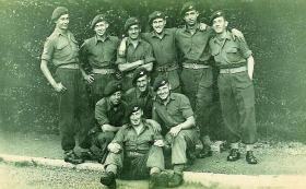 Members of 5th (Scottish) Parachute Battalion c1947-48
