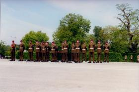 6 (Guards) Platoon, 3 Para Passing Out Parade, Pirbright, 2001