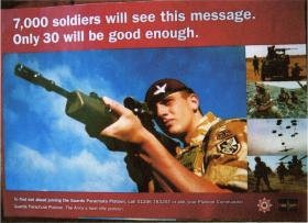 6(Guards) Plt Recruiting Poster, 2008