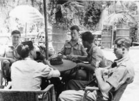 6 Airborne Div Officers Hotel Port Suez, 1947