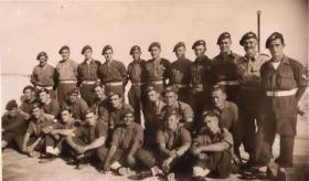 Members of 6th Para Bn including Roy Burns