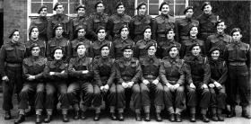 6 Platoon, B Company, 2nd Parachute Battalion, Colsterworth, Lincs,  June 1944.
