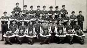 6 Platoon, Junior Parachute Company, July 1970.